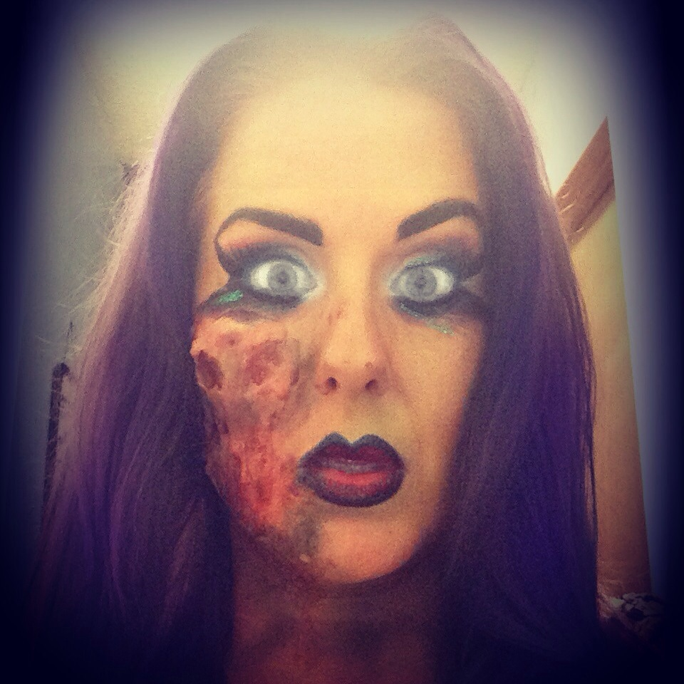 Easy Zombie Makeup Tips!